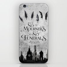 No Mourners No Funerals iPhone & iPod Skin