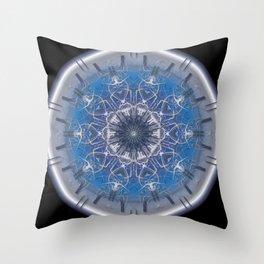 Blue Eye 1 Throw Pillow