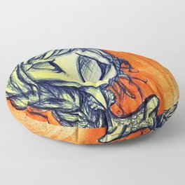 Starvation, Ghoul #1 Floor Pillow