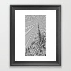 The Third Tower Framed Art Print