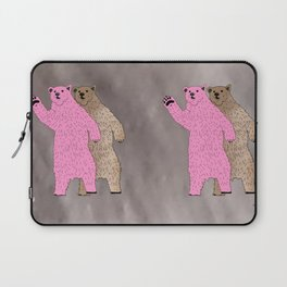 Build A Bigger Bear, Catch a Load of Salmon Laptop Sleeve