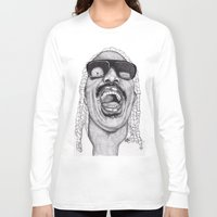 stevie nicks Long Sleeve T-shirts featuring Stevie  by Paul Nelson-Esch Art