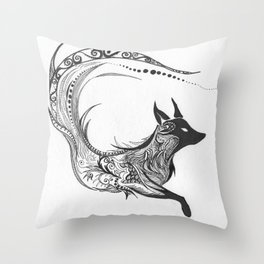 Sly Spirit Throw Pillow