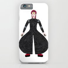MOONAGE DAYDREAM (White) iPhone 6s Slim Case