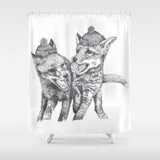 Pierre et Jacques Shower Curtain