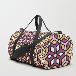 Geometric Sunset Duffle Bag