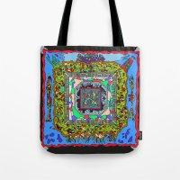 pixel art Tote Bags featuring Pixel by oddscenes