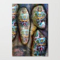 Da Stones Canvas Print