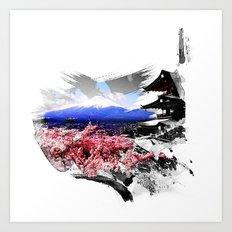 Japan - Fuji Art Print