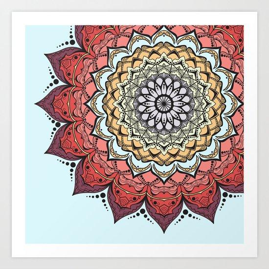 Mandala 2.0 (3.0) Art Print