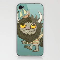 An Ode To Wild Things iPhone & iPod Skin