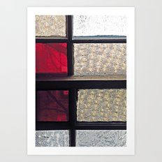 Window Glass Art Print