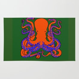 The Cunning Octopus Rug