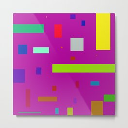 Squares and Rectangles 2 Metal Print