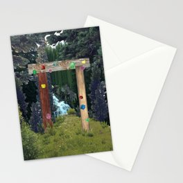 a green place Stationery Cards