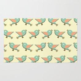 Birds pattern Rug