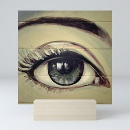 Eyes are Windows to the Soul Mini Art Print