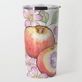 Crystal Peach Travel Mug