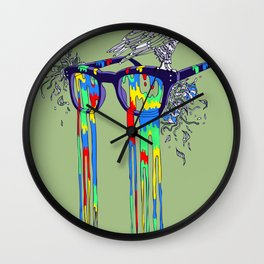 Technicolor Vision Wall Clock