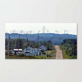 Turbine Hill Canvas Print