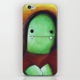 Monster Imitates Art: Monster Lisa iPhone Skin