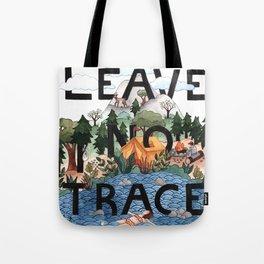 Leave No Trace Tote Bag