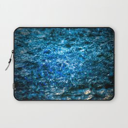 Water Color - Blue Laptop Sleeve
