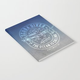The Ocean Is Calling And I must Go Scuba Diving Notebook