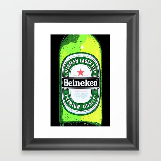 HEINEKEN for IPhone Framed Art Print