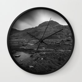 Exploding sky Wall Clock