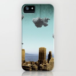 one cloud at a time iPhone Case