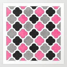 cosmopolitan clover Art Print