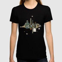 Collage City Mix 9 T-shirt