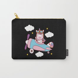 Unicorn On Cloud Carry-All Pouch
