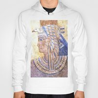 egyptian Hoodies featuring Egyptian Queen by Brian Raggatt