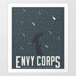 Envy Corps Art Print
