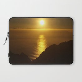 Sunset over the Canary islands Laptop Sleeve