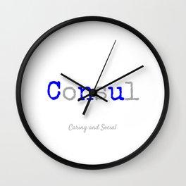 Consul Wall Clock