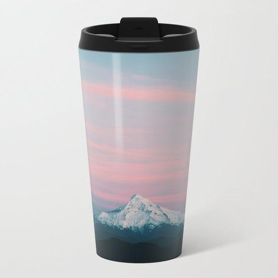 Mount Hood III Metal Travel Mug
