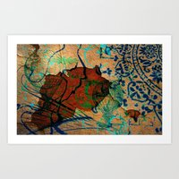 oriental Art Prints featuring Oriental by LoRo  Art & Pictures