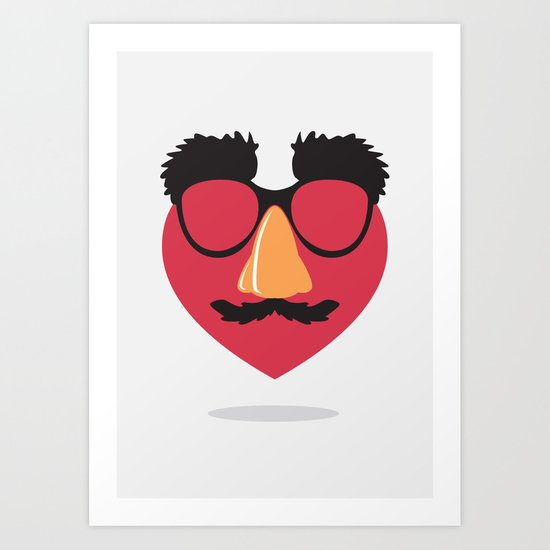 Love in Disguise Art Print