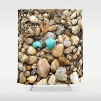 egg Shower Curtains featuring Egg by Mylittleradical