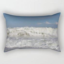 14 Days of Waves (4/14) Rectangular Pillow