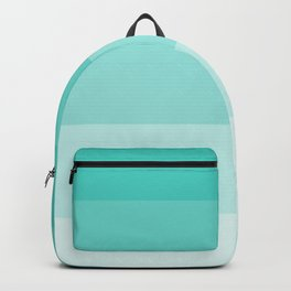 Shades of Turquoise Blue Backpack