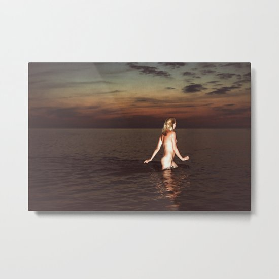 Naked Youth Metal Print