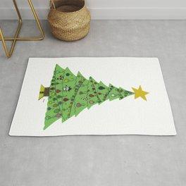 2015 Christmas Tree Rug