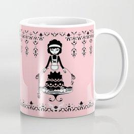 Lady Cake Coffee Mug