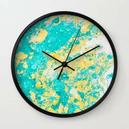 Spring Daze (Alcohol Inks Series 01) Wall Clock