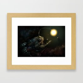 You Never Know What's Out There... Framed Art Print