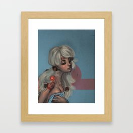 Looking Good at 9am Framed Art Print